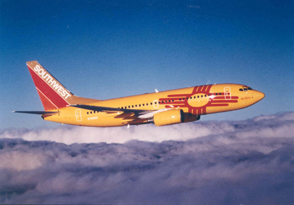Southwest Airlines Unveils New Mexico One