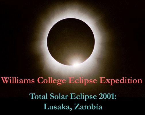 Total Solar Eclipse 2001: Lusaka, Zambia
